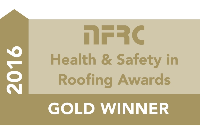 NFRC Gold Safety in Roofing Award 2016
