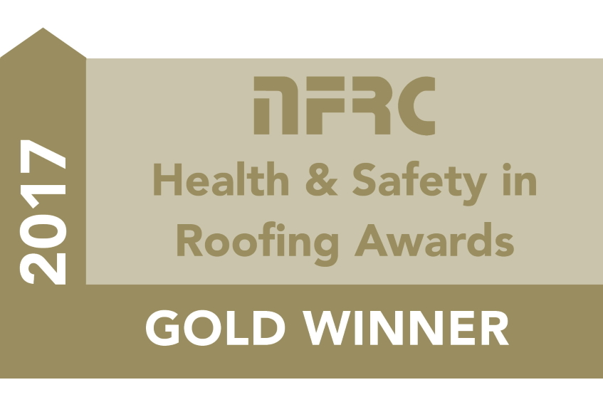NFRC Gold Safety in Roofing Award 2017