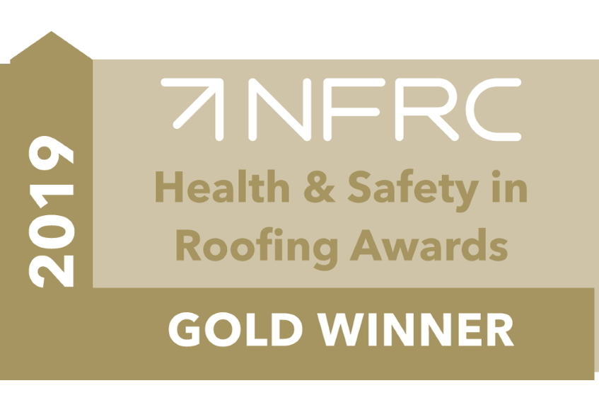 NFRC Gold Safety in Roofing Award 2019