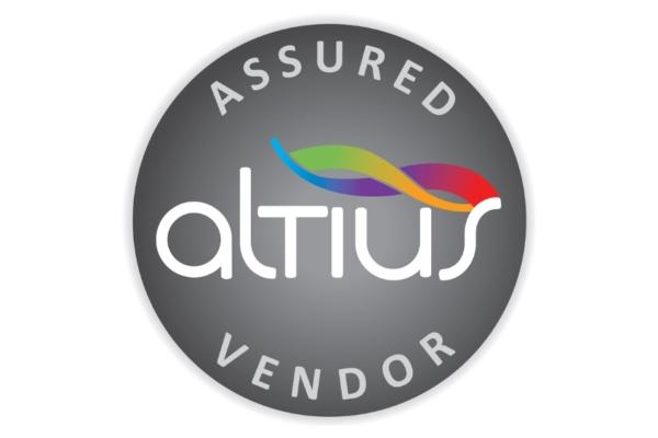Altius Assured Vendor Assessment Completed