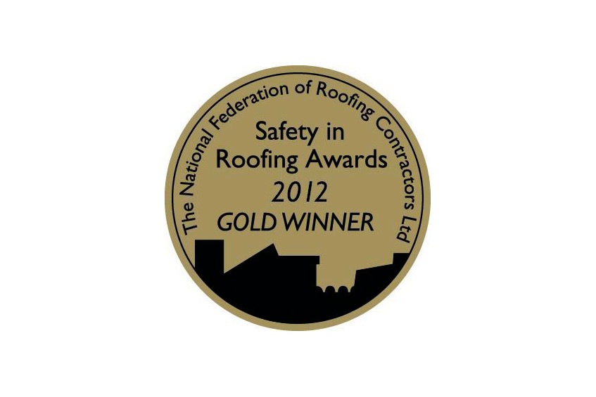 NFRC Gold Safety in Roofing Award - 4th Year Running